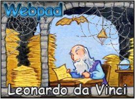 Leonardo da Vinci webpad