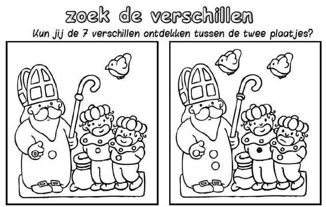 Beroemd Werkboekjes Sinterklaas - Leshulp.nl @CO07